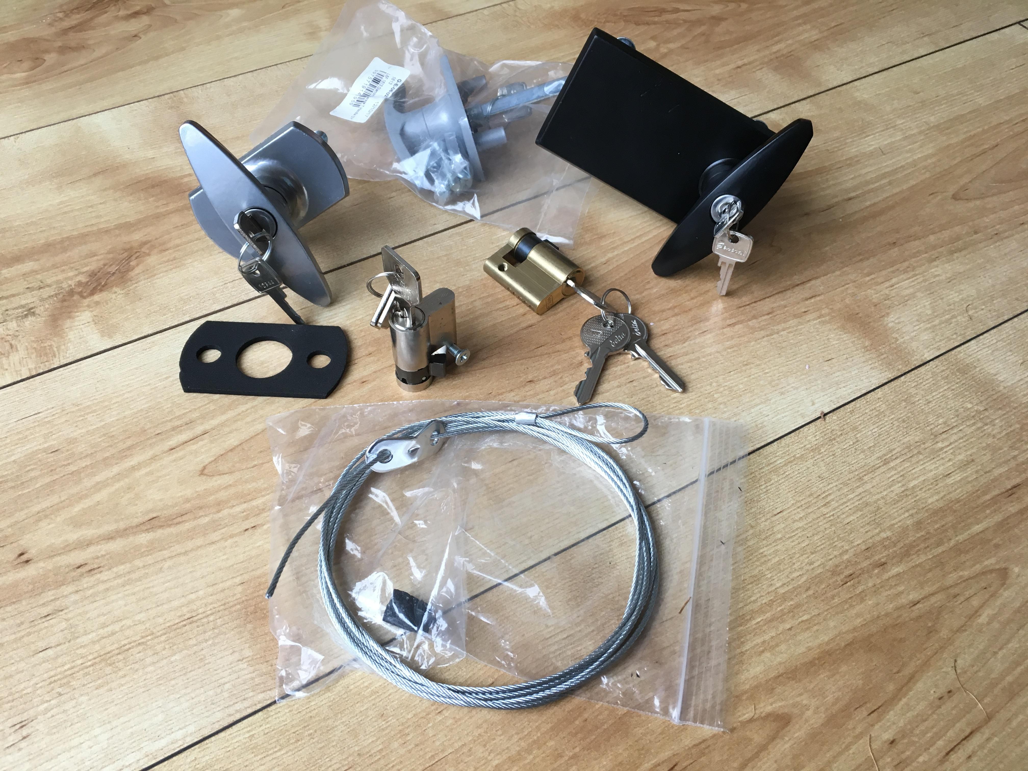 Garage lock parts